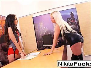 Nikita's sapphic office pound