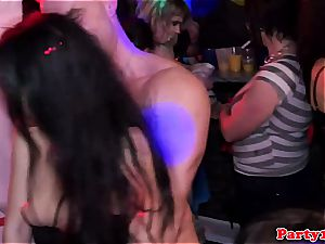 fortunate strippers getting a bunch of fellatios
