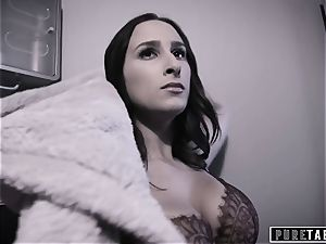unspoiled TABOO 18yo Ashley Sins Against mother to satisfy father