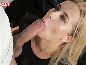 LETSDOEIT - molten ash-blonde Tricked Into intercourse By Czech stud