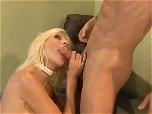 Puma Swede munches down this hard pulsating schlong