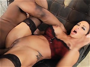 beans Jade is donk banged by her black paramour