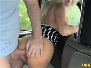 fake taxi adult movie star makes debut in london cab