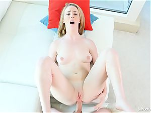 first-ever assfuck scene with nasty Bonnie Grey