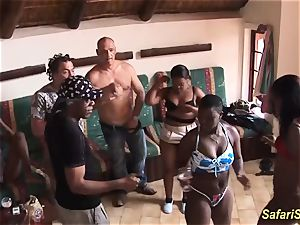 extreme insane african lovemaking party