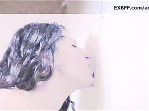 Sabrina Deep gloryhole fat fountain sloppy facial cumshot