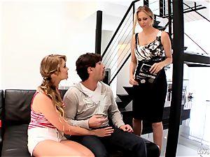 LiveGonzo Jessie Andrews & Julia Ann teenage and milf