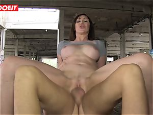 LETSDOEIT - hot duo Caught In An deserted palace