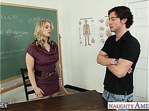 trampy schoolteacher Sarah