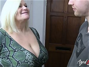 AgedLovE xxx with sizzling Mature Lacey Starr