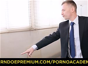 porn ACADEMIE - cool professor dp and insane assfuck pound