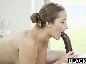 Darling Dani Daniels prepared to try out a dark-hued penis inwards her