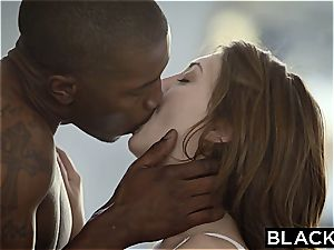 youthful Jojo seduces her huge ebony instructor