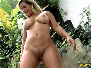 curvy mexican butt tearing up - Nicolle Bittencourt