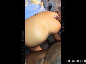 BLACKEDRAW Adriana Chechik Has 3AM double bbc longing