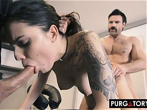 PURGATORY I let my wifey plow 2 boys in front of me