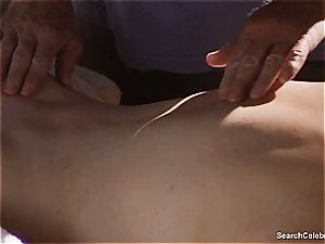 stunning Mimi Rogers gets her whole figure rubbed