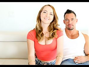 fiery red-haired Leigh Rose hopes this anal invasion tear up goes smooth
