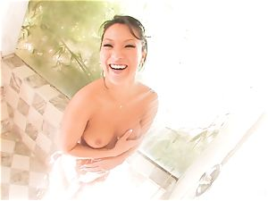 fun interview and shower with everyone's beloved Asa Akira