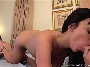 Anissa Has Her husband gargle sausage While She fucks