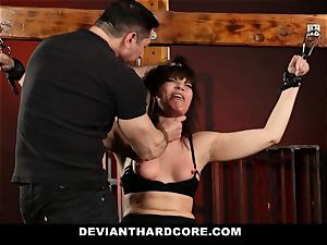 DeviantHardcore-Hot mummy caressed and handcuffed To Cross