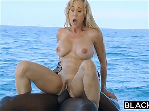 BLACKED Brandi enjoy thirsts big black cock Vacation