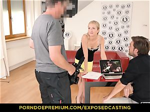 exposed casting - bootylicious babe sex knowledge test in casting