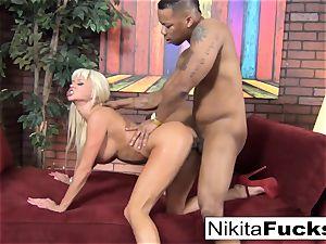 Nikita gets some multiracial lovinТ