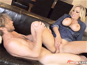 Julia Ann vag packed on mothers day