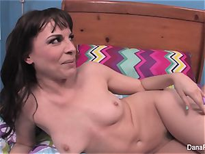 Behind the gigs with black-haired sweetheart Dana DeArmond