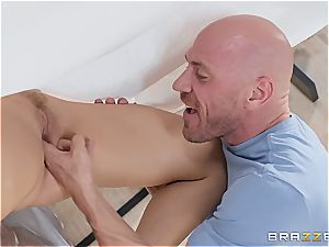 kinky wifey with phat congenital boobies enjoys getting inserted in a cuckold act