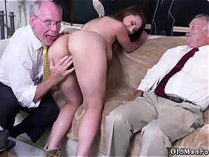aged chick large breasts Ivy impresses with her gigantic mammories and caboose