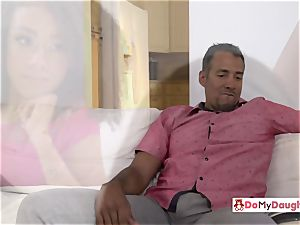 Shae and Ariana are seduced by each others crazy stepdad