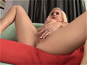 big-chested Mariah Maddysinn gets caressed and rode
