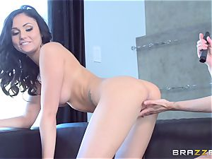 double faux-cock dipping withAriana Marie and Mckenzie Lee