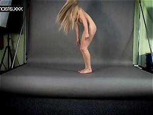 steamy gymnast bare teen