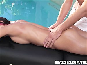 Brazzers - glad completing, jaw-dropping massage