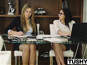 TUSHY Ariana Marie very first rectal
