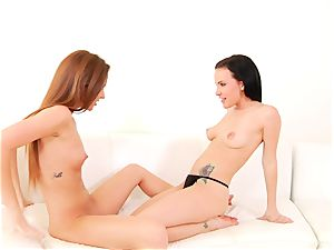 Maddy OReilly luvs taunting Katie St Ives raw snatch