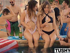 TUSHY Eva Lovia's rectal escapade 2