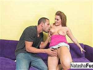 Natasha Gets to rail Carlo's huge man rod
