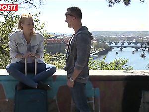 Russian honey poked rock hard By Czech fuckpole - LETSDOEIT