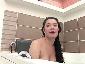 fledgling Latina wants her own porn
