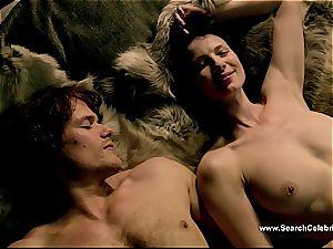 Caitriona Balfe in super-hot hook-up scene from Outlander