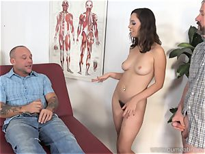 Jade Nile Has Her husband deepthroat lollipop and observe Her
