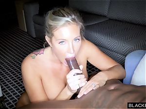 insane starlet Samantha Saint shoots home video for her husband