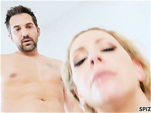 Spizoo - Step mommy Cherie Deville gets smashed