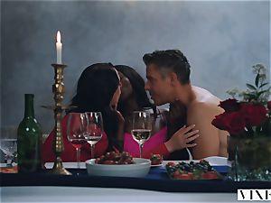 VIXEN Tori ebony In The hottest lovemaking Ever Filmed