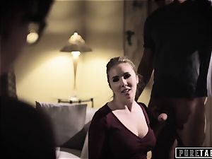pure TABOO Lena Paul coaxed into anal with Bosses hubby