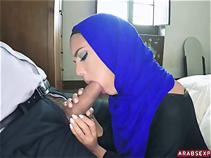 Arab subjugated girl Apolonia Lapiedra gets money for messy hook-up